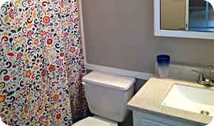 Serene Oak Master Bathroom After