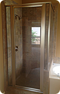 Omro custom shower