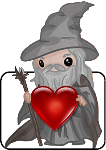 Hermit with a heart