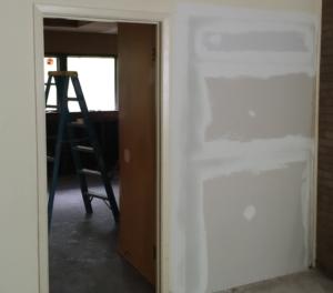 Dry wall repair