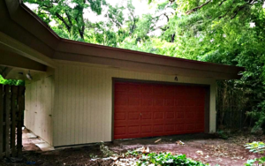New garage door!