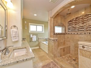 Gorgeous master bath!