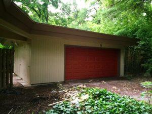 Ash House garage