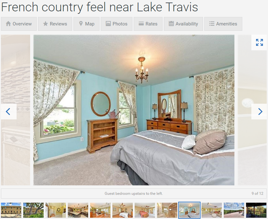 Here's our listing on HomeAway. Come stay a while!