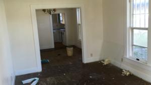 Interior progress shot