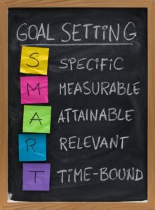 SMART Goals are Specific, Measurable, Attainable, Relevant, and Time-bound