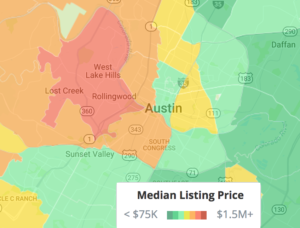 Trulia heat map
